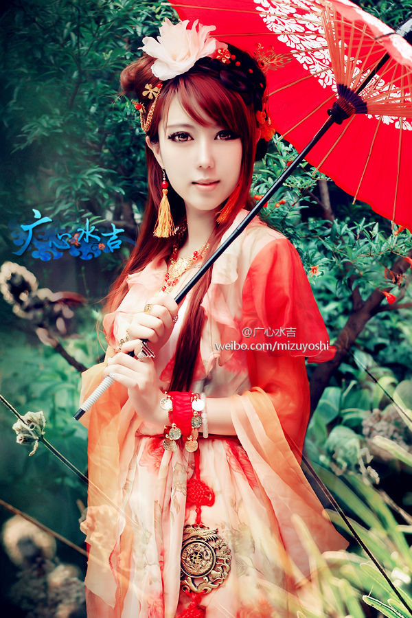 AncentChineseCosplay_RedCostume_002
